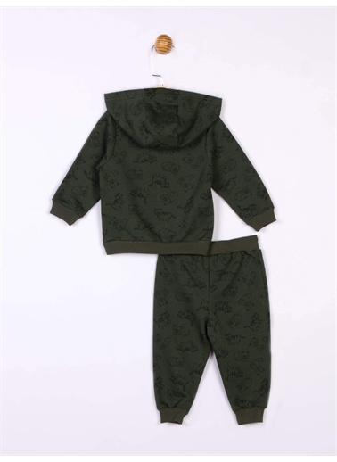 Panolino Panolino Bebek Kapüşonlu Eşofman Takımı 18980 Yeşil